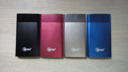 Power Bank GLOBO PWR5 różowy