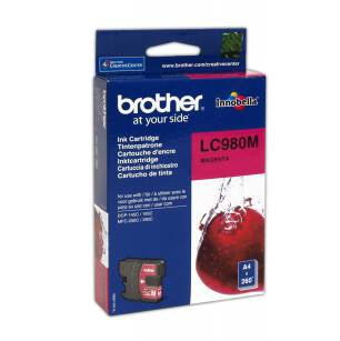 Cart. BROTHER do LC980 magenta